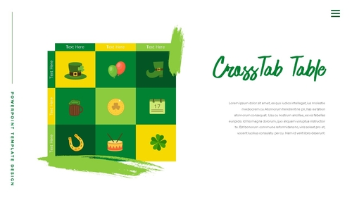 성 패트릭 데이 (St. Patricks Day) 템플릿 - 섬네일 35page