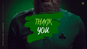 성 패트릭 데이 (St. Patricks Day) 템플릿 #40