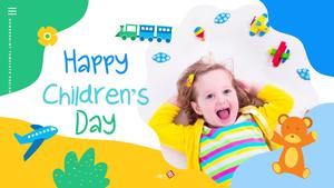 어린이날 Happy Childrens Day 파워포인트 #1
