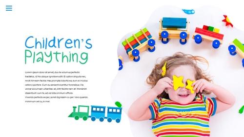 어린이날 Happy Childrens Day 파워포인트 - 섬네일 3page