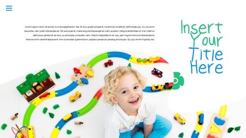 어린이날 Happy Childrens Day 파워포인트 - 섬네일 4page