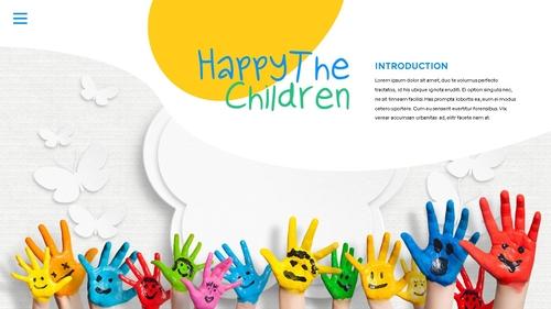 어린이날 Happy Childrens Day 파워포인트 - 섬네일 6page