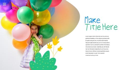 어린이날 Happy Childrens Day 파워포인트 - 섬네일 9page