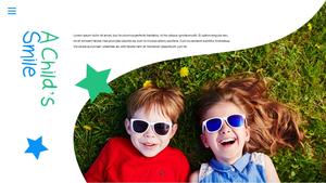 어린이날 Happy Childrens Day 파워포인트 #14