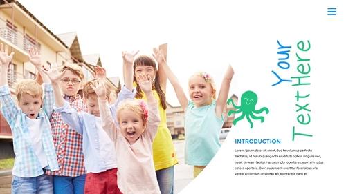 어린이날 Happy Childrens Day 파워포인트 - 섬네일 18page