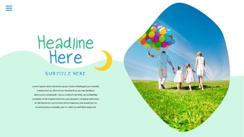 어린이날 Happy Childrens Day 파워포인트 - 섬네일 19page