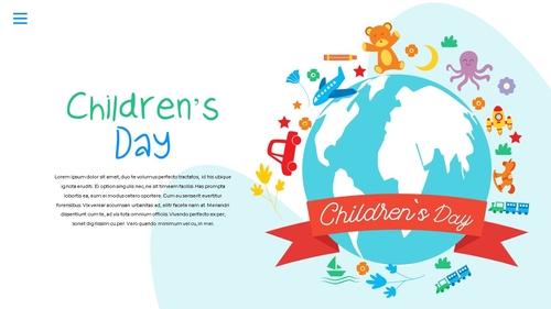 어린이날 Happy Childrens Day 파워포인트 - 섬네일 23page