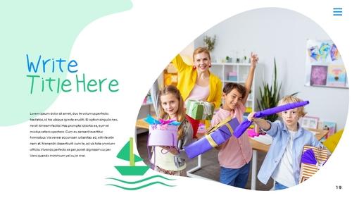 어린이날 Happy Childrens Day 파워포인트 - 섬네일 24page