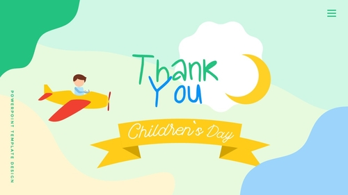 어린이날 Happy Childrens Day 파워포인트 - 섬네일 40page