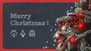 Merry Christmas 메리 크리스마스 16:9 파워포인트 템플릿