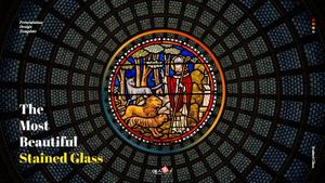 스테인드 글라스 (Stained Glass) 피치덱 ppt