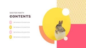 부활절 파티 (Easter Party) Template Design