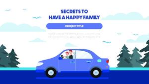 행복한 가족, 가정의 달 Template