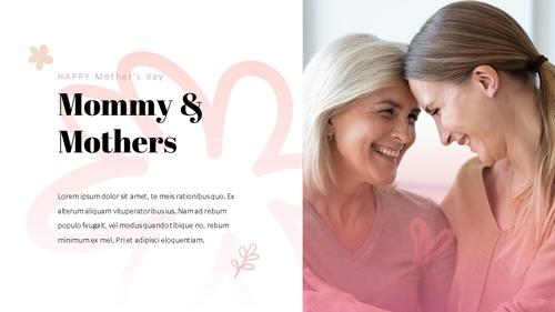 Happy Mothers day 프레젠테이션 템플릿 - 섬네일 7page