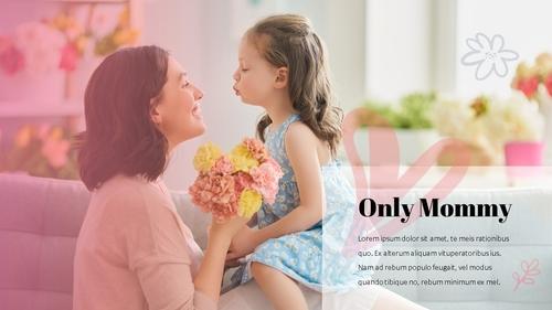 Happy Mothers day 프레젠테이션 템플릿 - 섬네일 8page