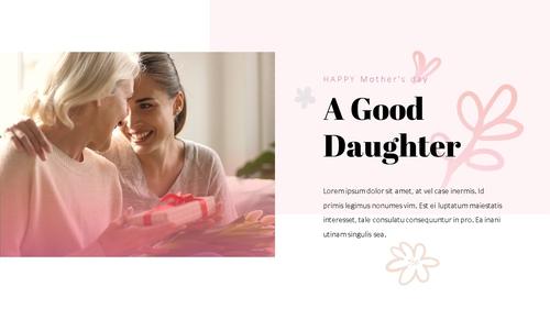 Happy Mothers day 프레젠테이션 템플릿 - 섬네일 11page