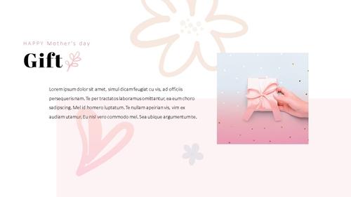 Happy Mothers day 프레젠테이션 템플릿 - 섬네일 12page