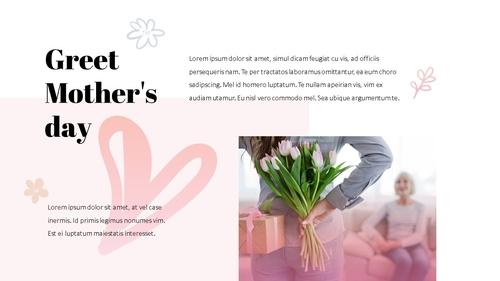 Happy Mothers day 프레젠테이션 템플릿 - 섬네일 13page
