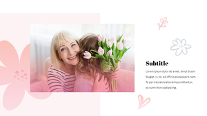Happy Mothers day 프레젠테이션 템플릿 #14