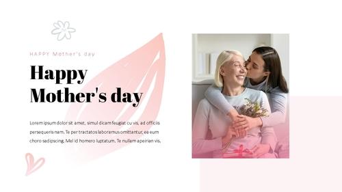 Happy Mothers day 프레젠테이션 템플릿 - 섬네일 15page