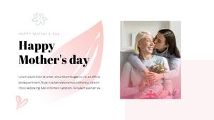 Happy Mothers day 프레젠테이션 템플릿 #15