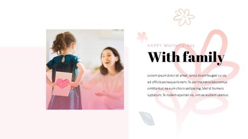 Happy Mothers day 프레젠테이션 템플릿 - 섬네일 16page