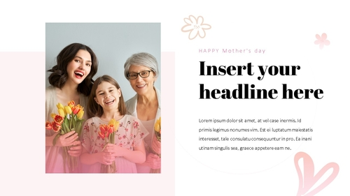Happy Mothers day 프레젠테이션 템플릿 - 섬네일 17page