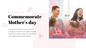 Happy Mothers day 프레젠테이션 템플릿 #18