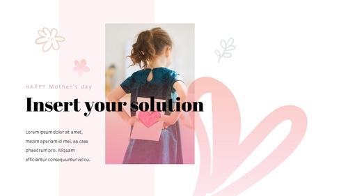 Happy Mothers day 프레젠테이션 템플릿 - 섬네일 19page