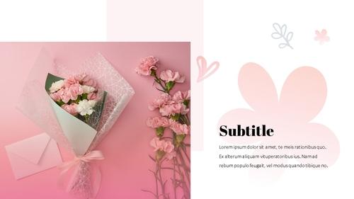 Happy Mothers day 프레젠테이션 템플릿 - 섬네일 20page