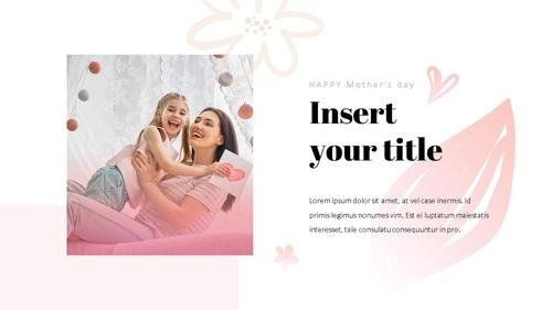 Happy Mothers day 프레젠테이션 템플릿 - 섬네일 22page