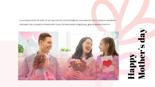 Happy Mothers day 프레젠테이션 템플릿 - 섬네일 23page
