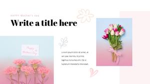 Happy Mothers day 프레젠테이션 템플릿 #24