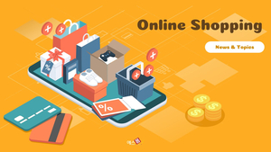 Online Shopping (온라인 쇼핑) 파워포인트 16:9