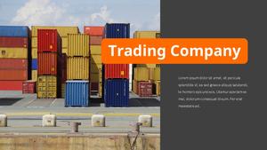 자유 무역 (Free Trade) 프레젠테이션 템플릿