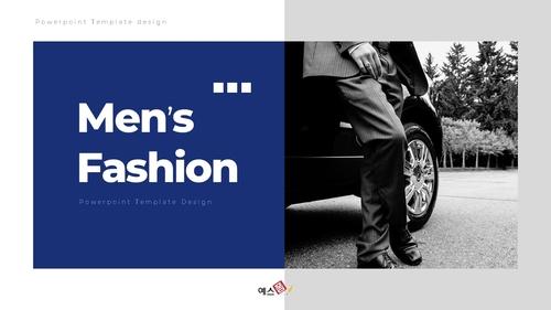 남성 패션 (Mens Fashion) 템플릿 - 섬네일 1page
