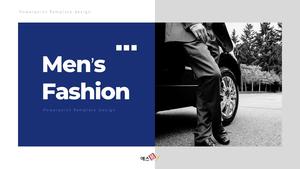남성 패션 (Mens Fashion) 템플릿 #1