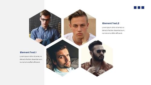 남성 패션 (Mens Fashion) 템플릿 - 섬네일 3page
