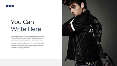남성 패션 (Mens Fashion) 템플릿 - 섬네일 4page