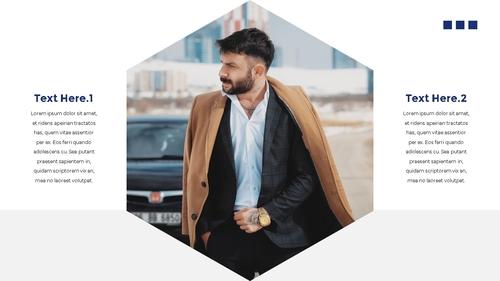 남성 패션 (Mens Fashion) 템플릿 - 섬네일 8page