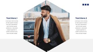 남성 패션 (Mens Fashion) 템플릿 #8