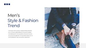 남성 패션 (Mens Fashion) 템플릿 #9