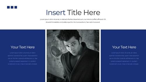 남성 패션 (Mens Fashion) 템플릿 - 섬네일 17page