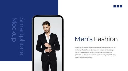 남성 패션 (Mens Fashion) 템플릿 - 섬네일 34page