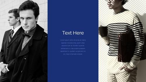 남성 패션 (Mens Fashion) 템플릿 - 섬네일 35page