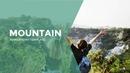 등산(Hiking) 파워포인트 배경 템플릿