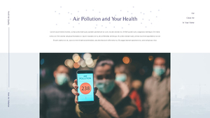 공기 청정기와 대기 오염 프레젠테이션