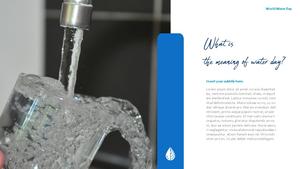 세계 물의 날 파워포인트 템플릿 #6