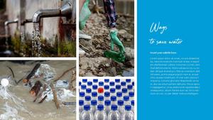 세계 물의 날 파워포인트 템플릿 #7