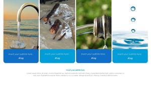 세계 물의 날 파워포인트 템플릿 #8